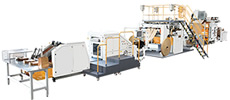 SBH330/450-TH Fully Automatic Roll Fed Flat Handle Paper Bag